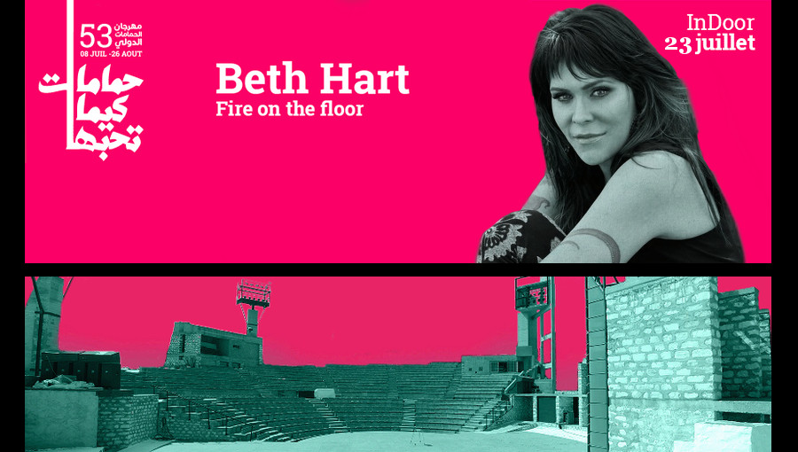 ambiance d 39 hammamet chaleur et temp te avec beth hart. Black Bedroom Furniture Sets. Home Design Ideas